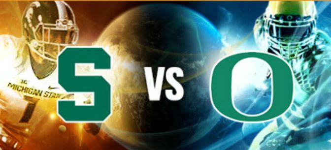 Rapid Reaction: No. 3 Oregon 46 – No. 7 Michigan State 27